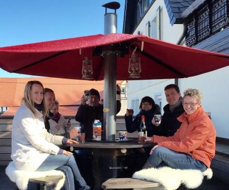 Alpenofen: für kuschelige Partys im Freien