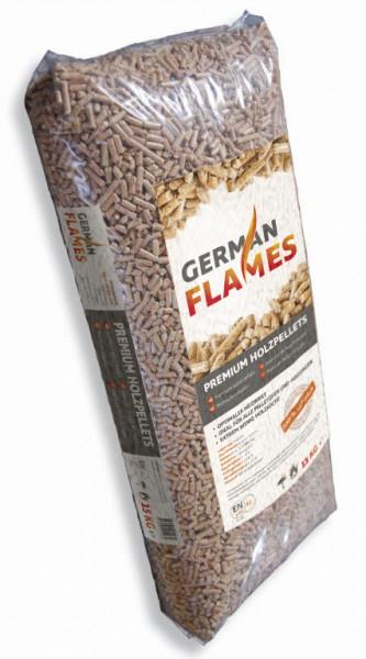 GERMAN FLAMES / EKO Pellets aus Deutschland - Sackware