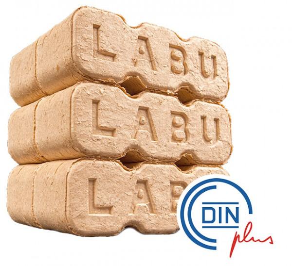 LABU Holz-Briketts im Paket à 10kg